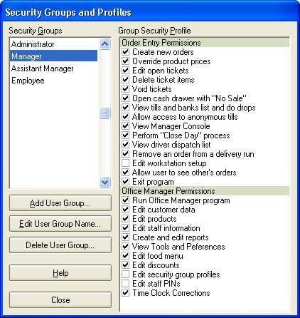 Office Security Point of Sale Software